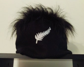 NZ ALL BLACKS Beanie - Stand out in the crowd!!