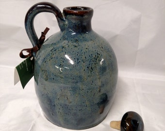 Stoneware Jug with Stopper