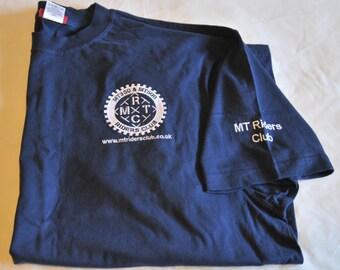 MTRC Short Sleeved T Shirt - Navy - XXL only