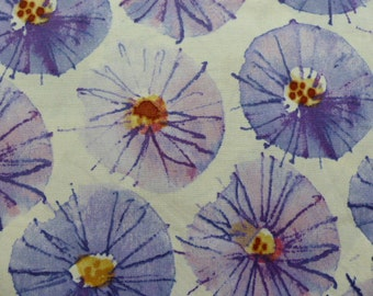 1 Fat Quarter Kathy Davis Free Spirit Wildflower Wisteria Fabric