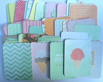 Project Life - Dear Lizzy - Neapolitan - 50 3x4 Cards