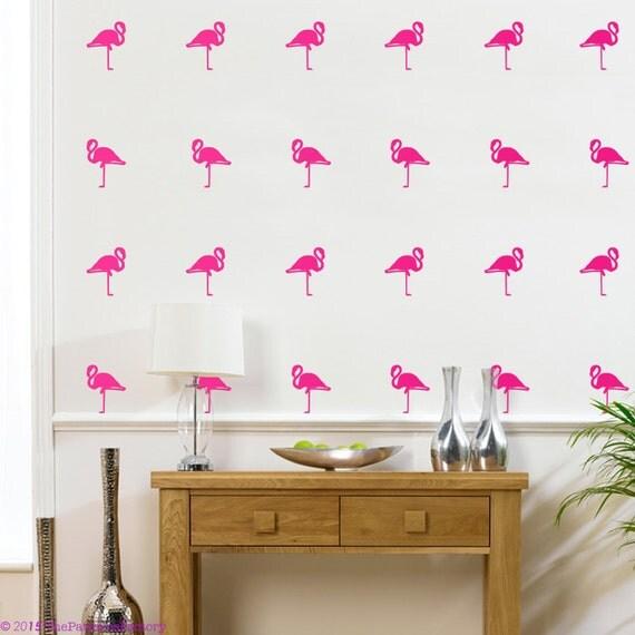 Flamingo Wall Decal 42 Flamingo Sticker Home Decor