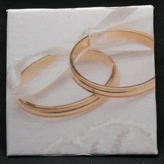 Wedding ring coasters ceramic drink by thecoastalworkshop for Handmade drink coasters