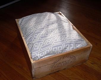 Wine Crate Pet Bed