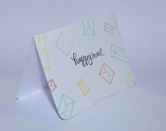 Happy Mail, Card