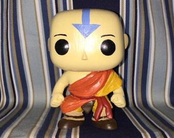Avatar Aang Custom POP figure