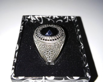 DISCOUNT !!  925 Sterling Silver Man Ring