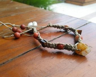 Handmade Macrame Woven Bracelet