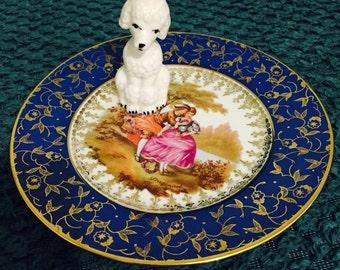 Sweet Poodle Retro Ring Dish