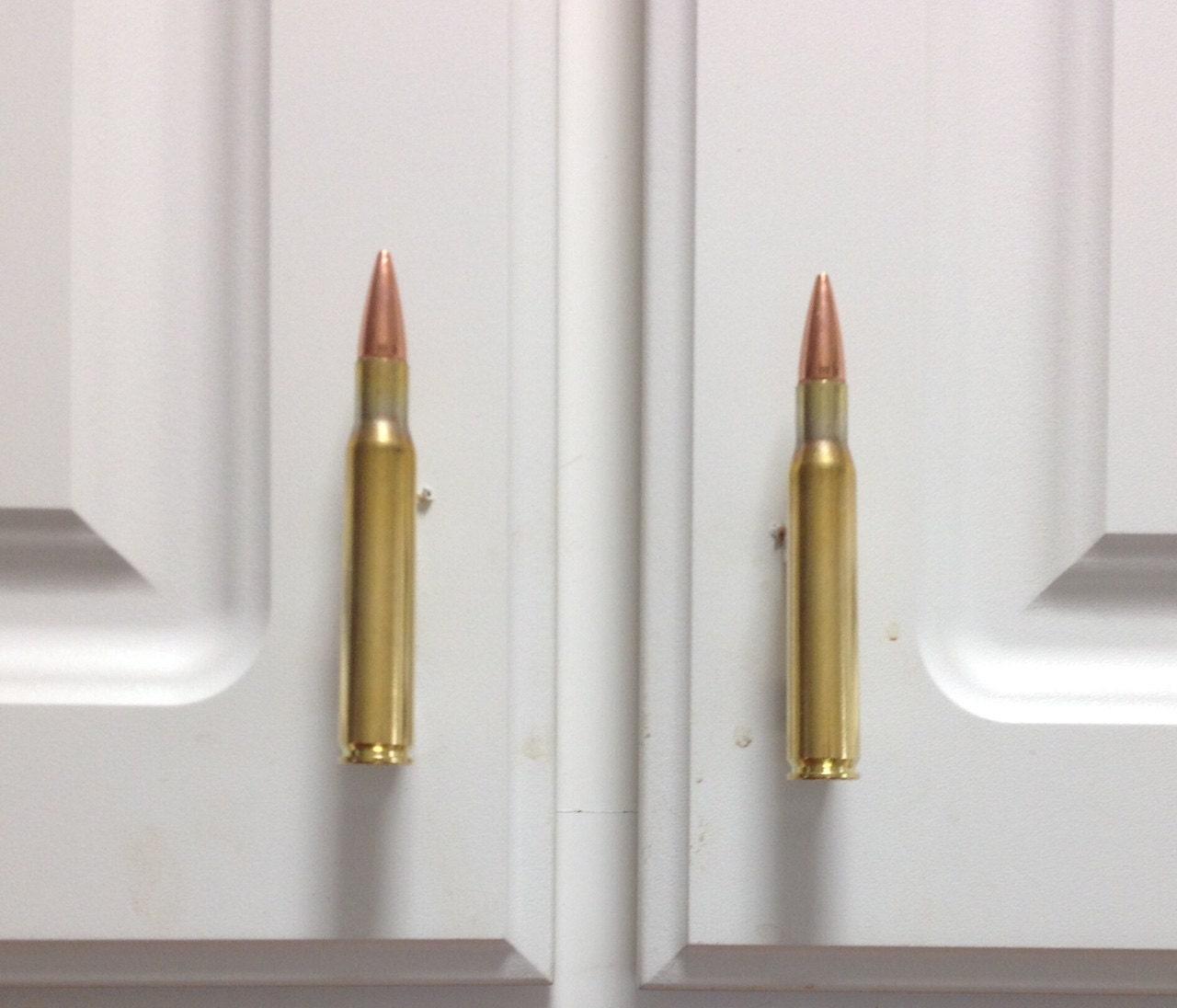 Bullet Cabinet Pulls 30 06 Brass Bullet Cabinet Door