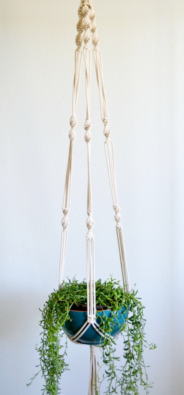 mahana macrame plante hanger. Black Bedroom Furniture Sets. Home Design Ideas