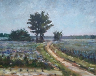12x16 oil painting Impressionism, painted by Sandra Larson