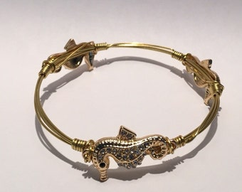 WIRED Handmade Seahorse Bangle