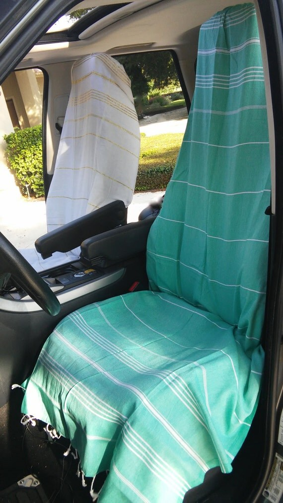 car seat cover yoga towel for your car adjustable. Black Bedroom Furniture Sets. Home Design Ideas