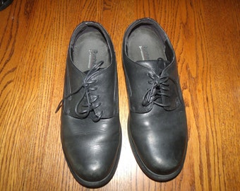 Dunham Men's Black MCT410 Waterproof Oxfords Size 10.4E