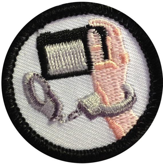 merit badge criminal painting