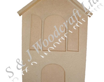 Mdf House Shaped Money Box