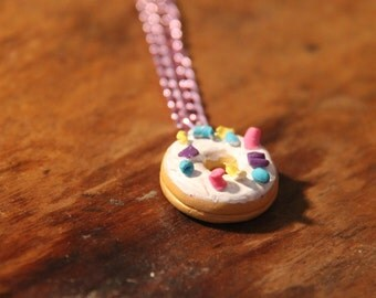 Donuts candy necklace