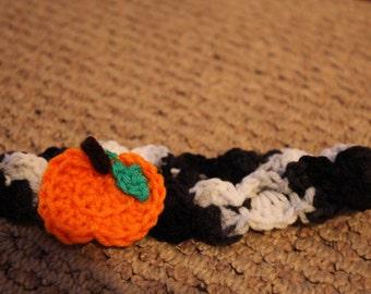 Pumpkin Crochet Headband