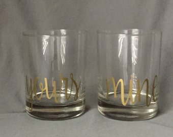 Personalized Lowball Glass