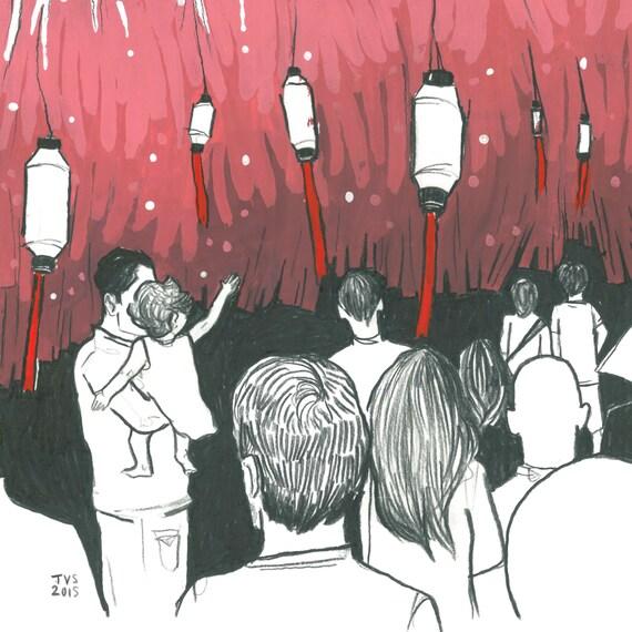 Day 20 Print: Carrer de Verdi wins the Festa de Gracia street competition