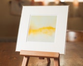 """Abstract Landscape Fine Art mounted Photograph """"Castle in the Dunes"""""""