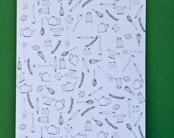 Kitchen Wrapping Paper