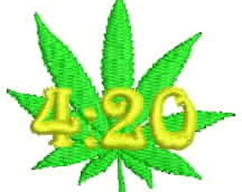 420 embroidery design