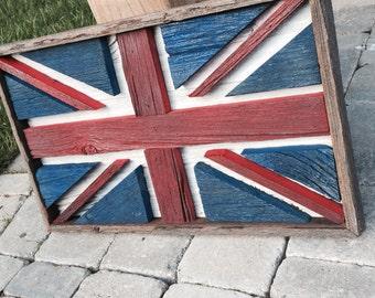 Barn Board Union Jack