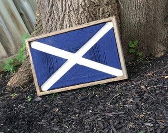 Barn Board Scottish Sign