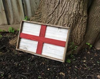 Barn Board English Sign