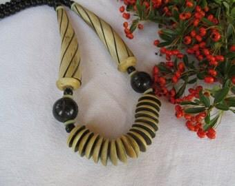 Superb ethnic collar camel bone