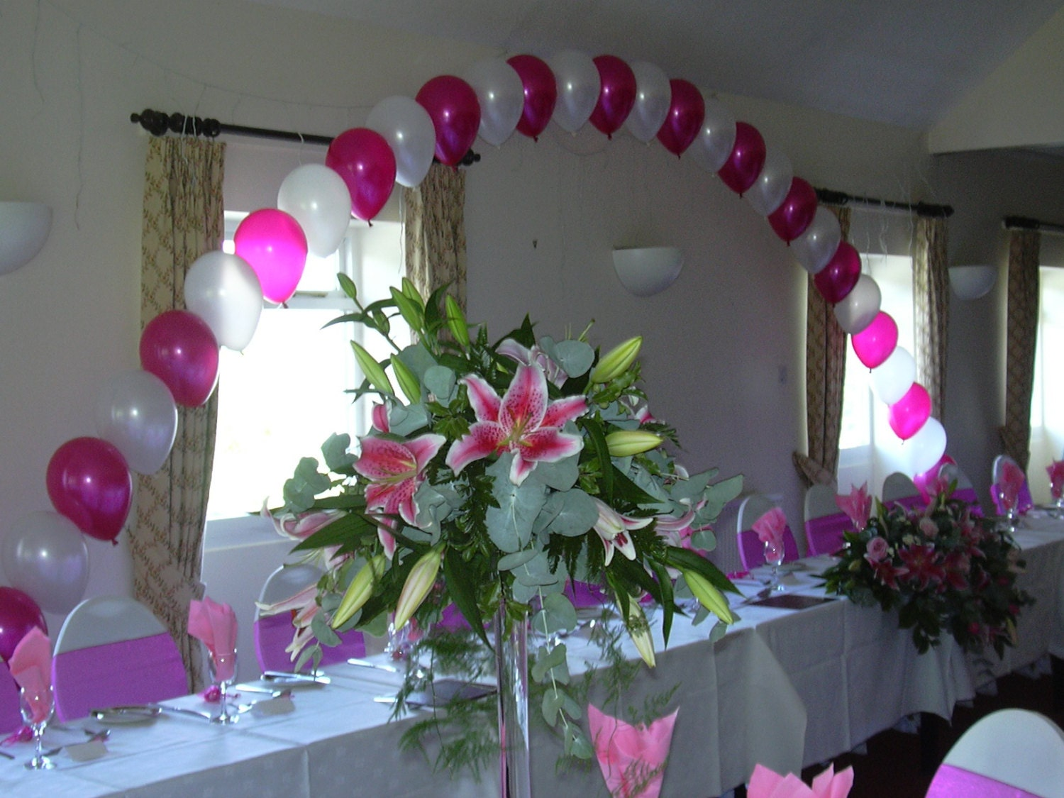 Large diy balloon arch kit for wedding or party decoration