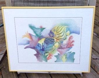 Caribbean Fish Print  ( 2 of 2 )