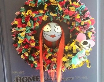 Sally fabric wreath