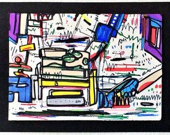 "Drawing, ""Living Room"""