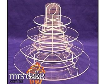 Macaron Tower holds 80 Macarons on edge