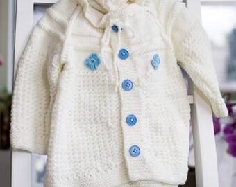 Baby Boy Knitted Cardigan set