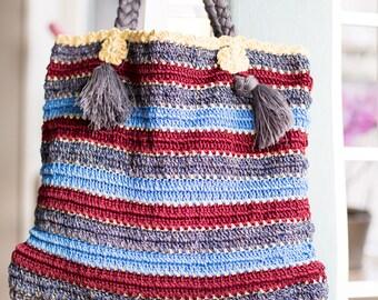 Big Hand bag Shoulder bag Autumn Fall color