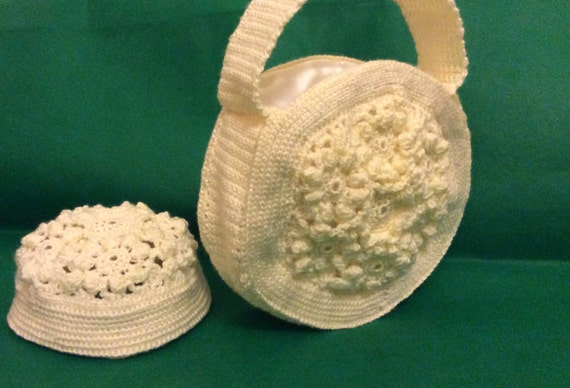 Crochet Circle Bag : All Bags & Purses