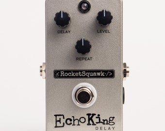 RocketSquawk Echo King Delay Effect Pedal