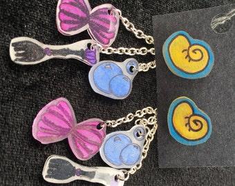 Ariel's Under the Sea Earrings