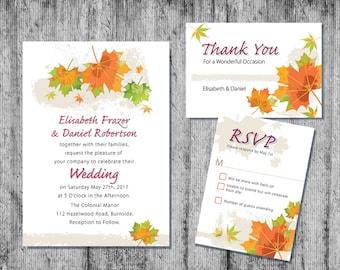 Downloadable Wedding Invitation, Wedding Stationery, Printable Wedding Invitation, Wedding Invitation, DIY Wedding Invitation, DIY Invites