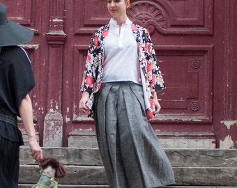 Hakama-inspired Skirt