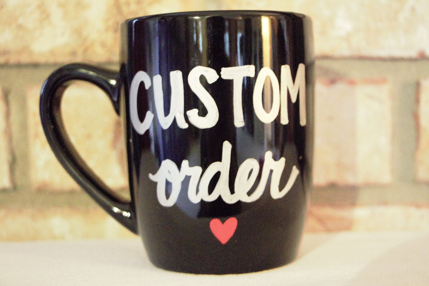 custom mug custom coffee mug custom tea cup personalized. Black Bedroom Furniture Sets. Home Design Ideas