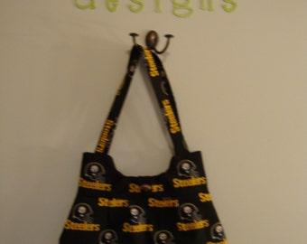 Steeler's purse - black