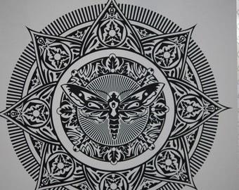 Transcendence: Moth Screen Print