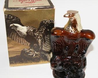 """Vintage Avon """"American Eagle"""" After Shave Decanter"""
