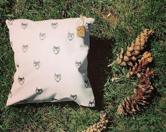 Fox pillow case