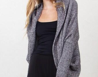 Cardigan Hood Sweater